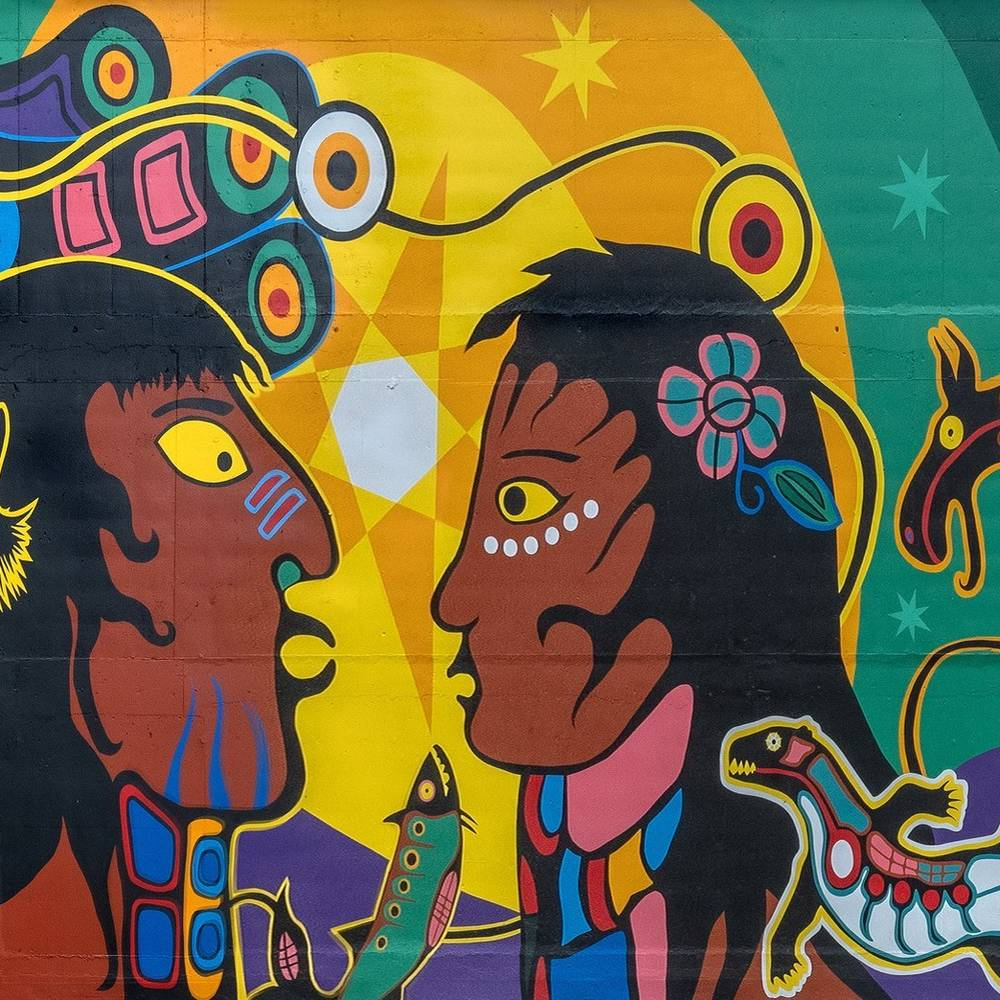 Unveiling Indigenous Art Mural at Dundas St. E. and Jarvis St.