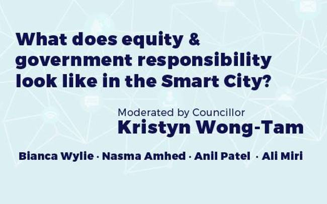 What Does Equity & Government Responsibility Look Like in the Smart City?
