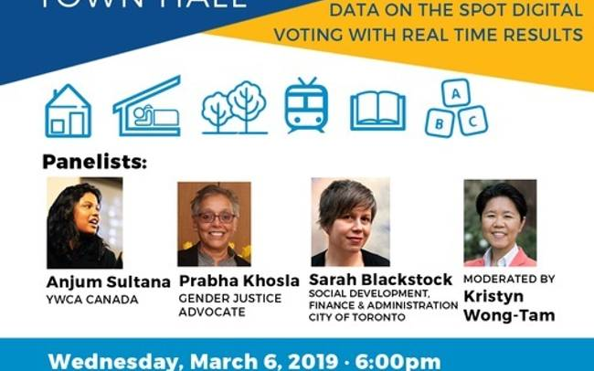 Gender & Equity Responsive Budgeting Town Hall