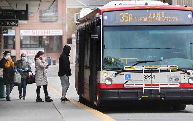Union tells TTC bus drivers to carry no more than 15 passengers amid pandemic