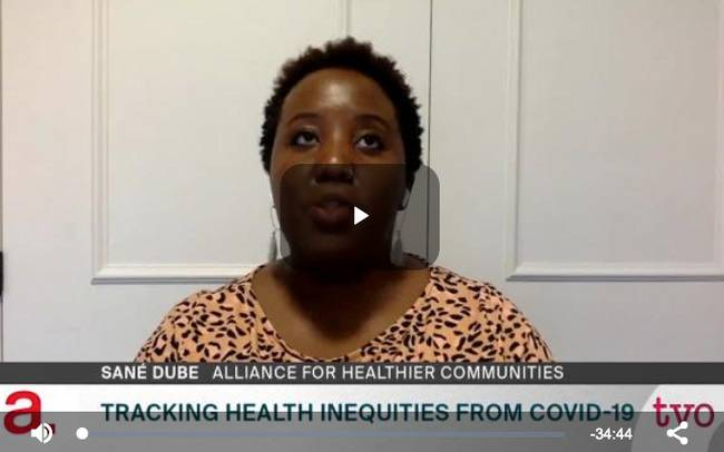 Tracking Health Inequities from COVID-19