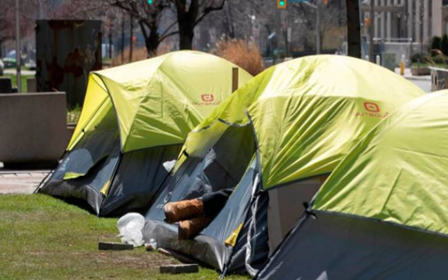 City agrees to physical distancing standards in shelters following lawsuit