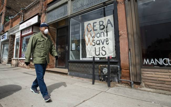 Five business groups urge Ontario to stop commercial evictions during pandemic