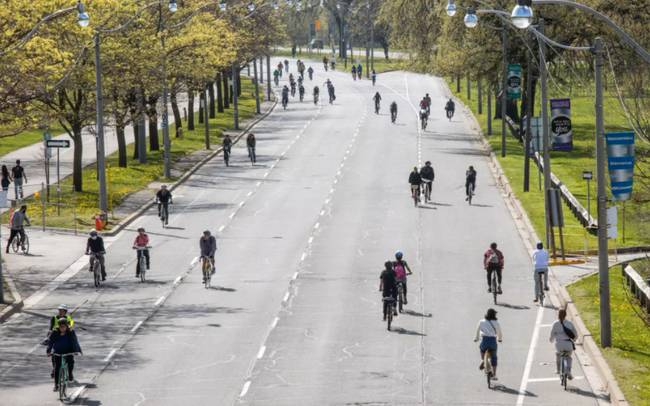 Toronto's Plan to open streets for cyclists and pedestrians has been a huge success