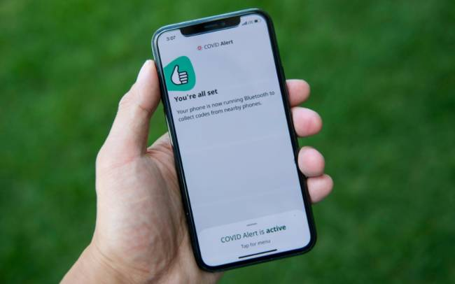 Rollout of 'COVID Alert' app faces criticism over accessibility