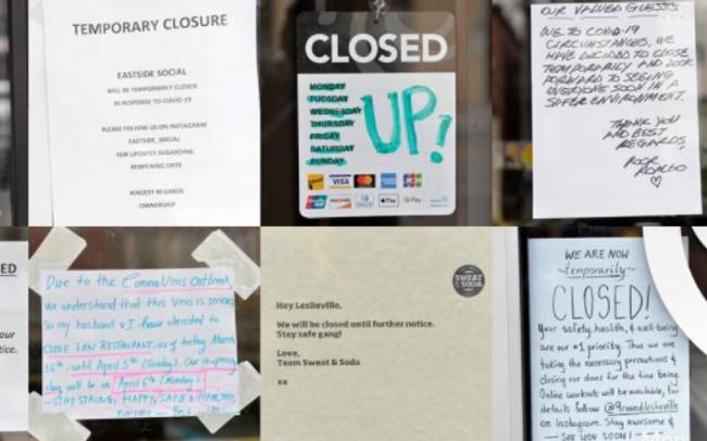 A wave of business evictions is expected in early September, CFIB warns