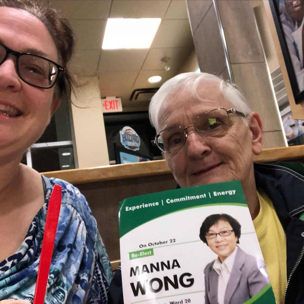 Norma and Terri Lynn PlattLong time Agincourt residents