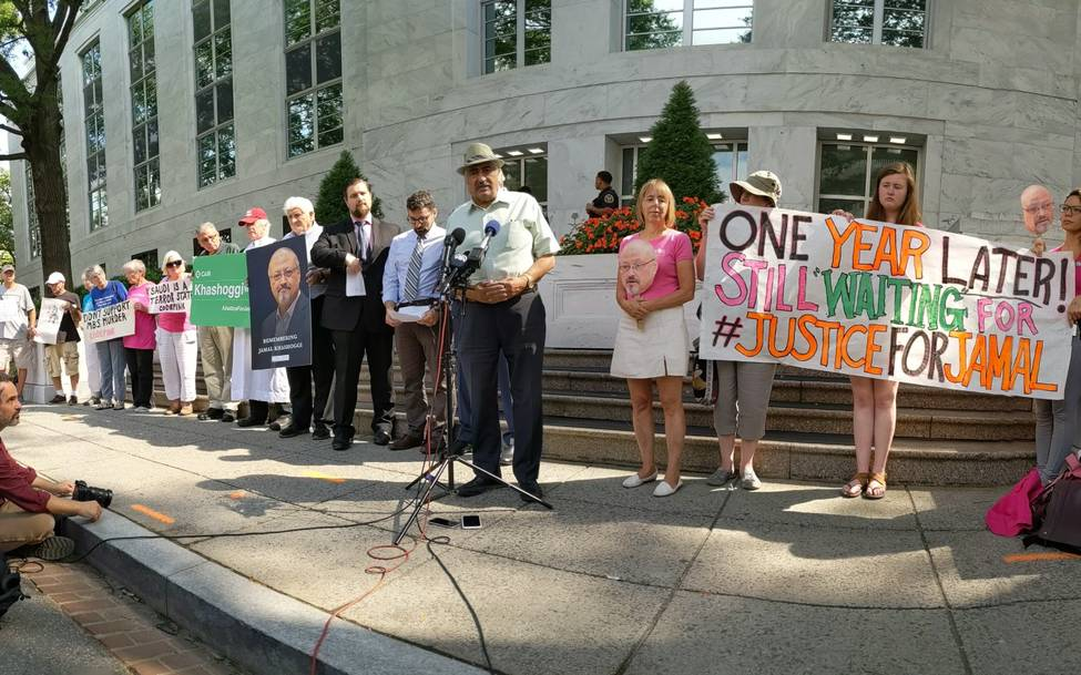 Nonviolence International Remembers Jamal Khashoggi One Year Later