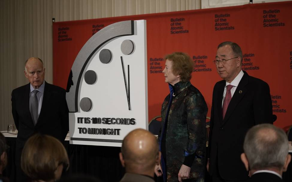 Doomsday Clock Closer Than Ever to Midnight:  Active Nonviolence Can Still Save Us