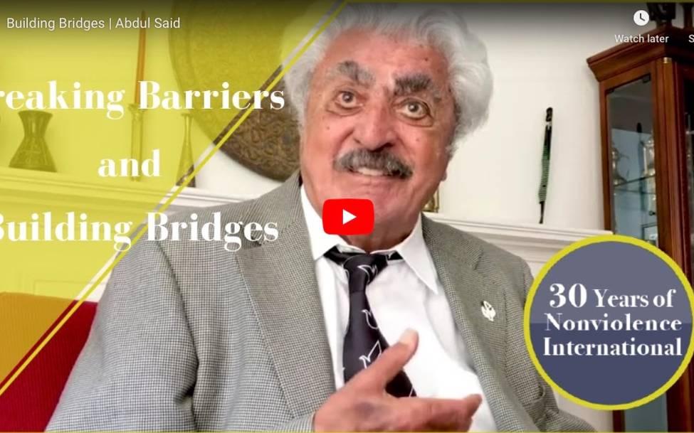 Celebrating 30 Years of Nonviolence International - Professor Abul Aziz Said