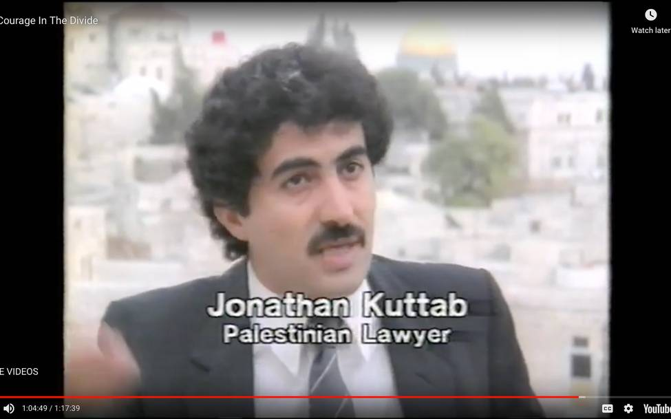 Beyond The Two States By Jonathan Kuttab