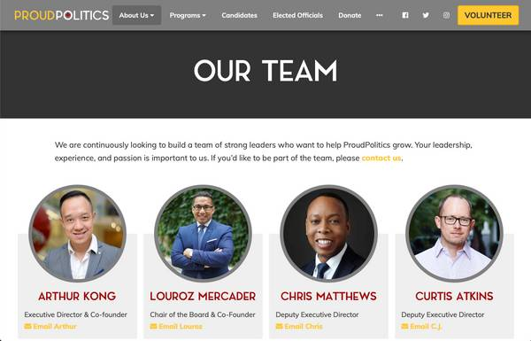 Showcase Your Staff & Board