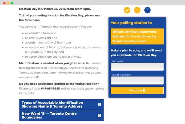 Make a Vote Plan Page