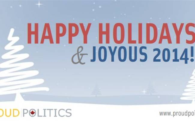 Happy Holidays & Joyous 2014