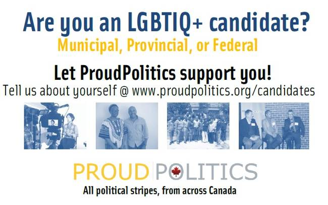 Are you an LGBTIQ+ Candidate? Let us Support You!