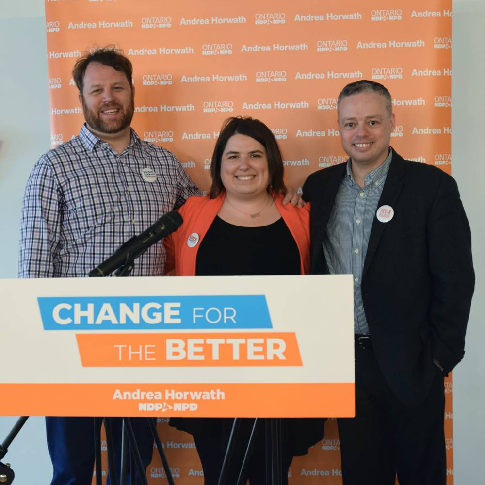 Provincial Nomination Meeting with Andrea Horwath