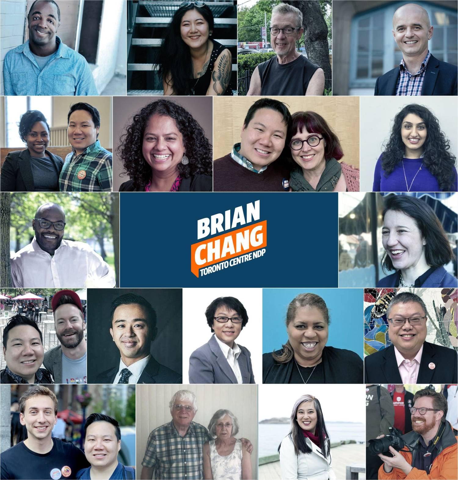 Absolutely honoured and humbled to have the support, guidance, and friendship of these amazing people. I am committed to working with them for a better Toronto. 🧡&💪