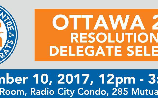 Resolutions & Delegate Selection Meeting