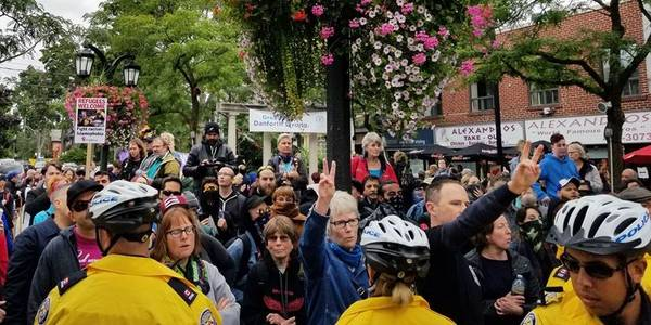 Anti-Muslim rally on Danforth prompts larger counter demonstration
