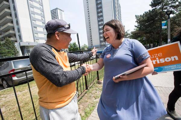 Historic NDP win as Suze Morrison takes Toronto Centre