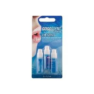 WERNER SCHMIDT PHARMA Gogodent Atem-Liquid Ice Mint 3X3.2 ml