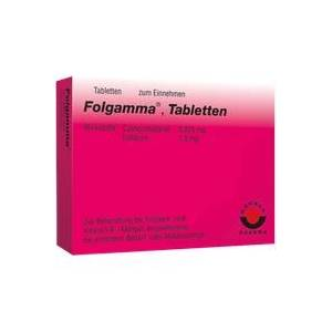 Wörwag Pharma GmbH & Co. KG Folgamma Tabletten 100 St