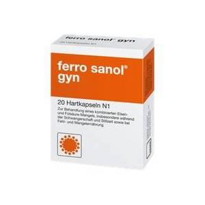 UCB Pharma GmbH Ferro Sanol gyn Hartkaps.m.msr.überz.Pellets 20 St