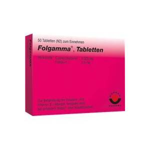 Wörwag Pharma GmbH & Co. KG Folgamma Tabletten 50 St