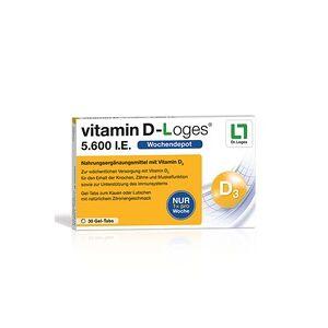 Dr. Loges Vitamin D-Loges 5.600 I.e. Kautabletten 30 St