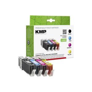 KMP Tinte ersetzt Canon CLI-571 XL Kompatibel Kombi-Pack Photo Schwarz, Cyan, Magenta, Gelb C107XV 1