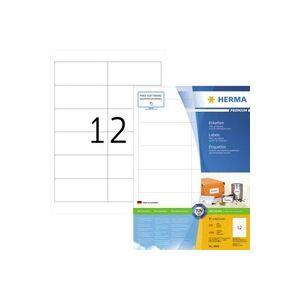 Herma 4669 Etiketten 97 x 42.3mm Papier Weiß 1200 St. Permanent Universal-Etiketten, Frankier-Etike