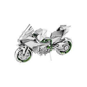 Metal Earth Iconx Kawasaki Ninja Green Metallbausatz