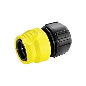 Kärcher 2.645-192.0 Kunststoff Schlauchkupplung Steckkupplung, 13mm (1/2 ) - 15mm (5/8 ) Wasserstop