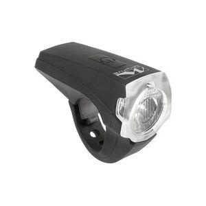 M-Wave Fahrrad-Scheinwerfer APOLLON K 1.1 USB LED akkubetrieben Schwarz