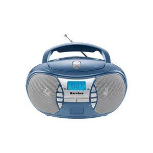 Karcher RR 5025 CD-Radio UKW AUX, CD Blau