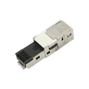 Telegärtner STX V1 RJ45-Steckereinsatz Cat.6 Stecker, gerade Pole: 8P8C J80026A0004 J80026A0004 1St