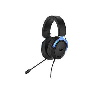 Asus TUF H3 Gaming Headset 3.5mm Klinke schnurgebunden Over Ear Schwarz, Blau
