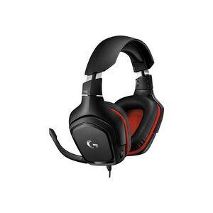 Logitech Gaming G332 Gaming Headset 3.5mm Klinke schnurgebunden Over Ear Schwarz, Rot