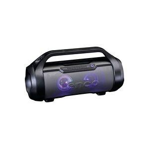 Lenco SPR-070BK Bluetooth Lautsprecher AUX, FM Radio, USB, spritzwassergeschützt, SD Schwarz