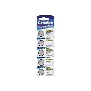 Camelion CR2025 Knopfzelle CR 2025 Lithium 150 mAh 3V 5St.