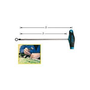 Hazet Werkstatt Innen-Sechskantschraubendreher Schlüsselweite (Metrisch): 10mm Klingenlänge: 200mm