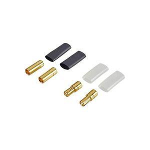 Reely 83504-2 Akku Stecker Deluxe 5.5mm vergoldet 2 Paar