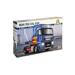 Italeri 510003916 MAN TGX XXL D38 E6 Truckmodell Bausatz 1:24
