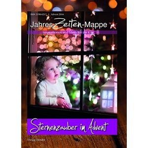 JahresZeiten-Mappe: Sternenzauber im Advent: Inspirationen und Ideen für die Kita - Preis vom 03.02.2021 05:48:45 h