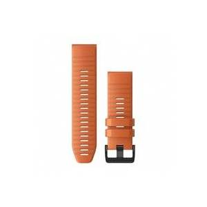 Garmin - Quickfit 26 Watch Band - Uhrenarmband - Descent MK1 - Ember Orange Silicone