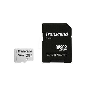 Transcend TS32GUSD300S-A - MicroSDHC-Speicherkarte 32GB, Transcend 300S-A, Class 10