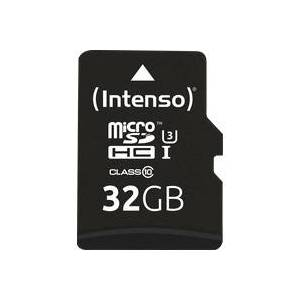 Intenso 3433480 - MicroSDHC-Speicherkarte 32GB, Intenso UHS-I Professional