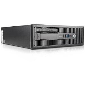 HP Wie neu: HP EliteDesk 800 G1 SFF Intel 4th Gen i3-4150 8 GB 128 GB SSD DVD-RW Win 10 Pro