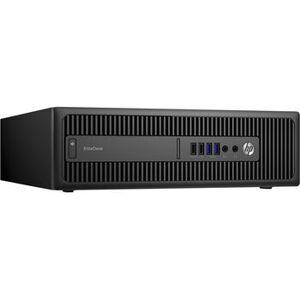 HP Wie neu: HP EliteDesk 800 G2 SFF Intel 6th Gen i7-6700 8 GB 240 GB SSD DVD-ROM Win 10 Pro