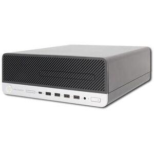 HP Wie neu: HP ProDesk 600 G3 SFF i3-6100 8 GB 128 GB SSD DVD-RW Win 10 Pro